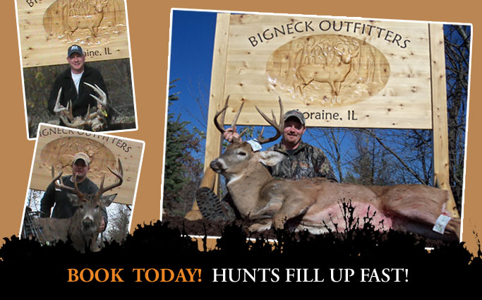 Book Today! Trophy Whitetail Hunts Fill Up Fast!